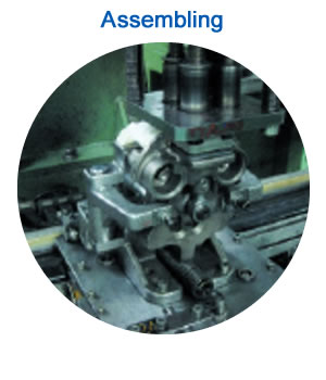 Assembling: Automatic screw assembly with torque setting