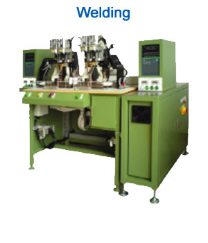 Welding: Semi-Automatic Welding machine with high current spot welder